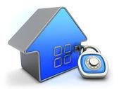 Concetto di sicurezza domestica — Foto Stock