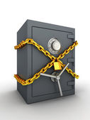 Secure safe — Stockfoto