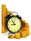 Zeit für unternehmen — Stockfoto