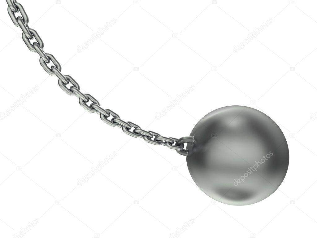 Wrecking ball - Stock Image
