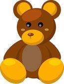 Toy bear — Stock Vector