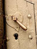 Heart-shaped lock — Stock Photo
