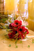 Bridal arrangement — Stock Photo