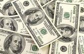 Background of dollars — Stock Photo