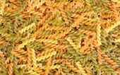 Uncooked Pasta (Fusilli) — Stock Photo