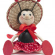 Toy ladybird - Stock Photo