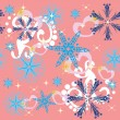 Winter background - Imagen vectorial