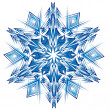 Royalty-Free Stock Vector Image: Abstract isolated vector snowflake