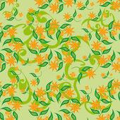Padrão abstrato com flores — Vetorial Stock
