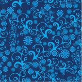 Abstract patroon met bladeren — Stockvector