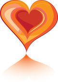 Astratto sfondo d'amore — Vettoriale Stock