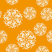 Abstraktní vzor s květinami — Stock vektor