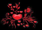 Coeur d'amour — Vecteur