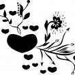 Love heart - Image vectorielle