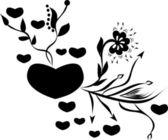 愛の心 — ストックベクタ