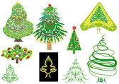 Cristmass tree — Stock Vector