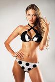 Gorgeous woman in bikini — Stock Photo