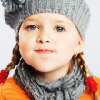 Funny little girl — Stock Photo #7639647