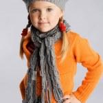 Little fashionable girl — Stock Photo #7639648