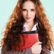 Lovely student girl — Stock Photo #7640063