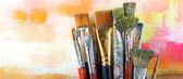 Set brushes — Stock Photo