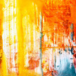 Abstract background drawn by oil paints - Photo