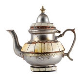 Vintage rusty teapot — Stock Photo