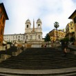 Stock Photo: Rome Trinitdei Monti Church