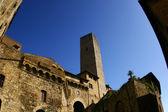 Landschap toscana-Italië — Stockfoto