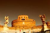 Rome Castel Sant'Angelo, the Mausoleum of Hadrian — Stock Photo