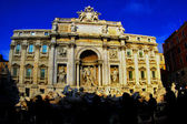 Rome Fountain Trevi — Stock Photo