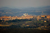 Siena landscape Toscana Italy — Stock Photo