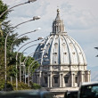 St. Peter's dome Roma — Stock Photo