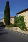 Tuscan farmhouse — Stock Photo