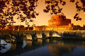 "Rome ""Castel Sant Angelo"" (the Mausoleum of Hadrian) — Stock Photo"