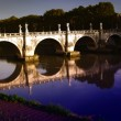 Rome, Bridge (Landscape) — Stock Photo #7570959