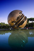 The Sphere Sculpture Italy — Stock Photo