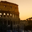 Rome  Coliseum  Flavian Amphitheatre - Stock Photo
