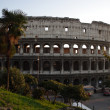 Stock Photo: Rome Coliseum FlaviAmphitheatre