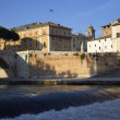 Stock Photo: Rome River Tiber