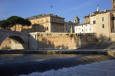 Rome River Tiber — Stock Photo