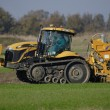 Stock Photo: Tractor agricultural machine