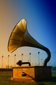 Big gramophone — Stock Photo