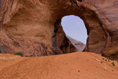 Wind Cave in Monument Valley — Stock Photo