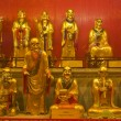 Small statues in Baolin Temple — Stock Photo #6989666