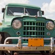 Green Truck — Stock Photo
