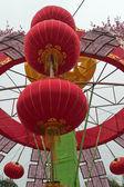 Rode lantaarns — Stockfoto