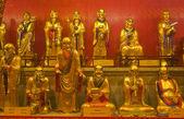 Small statues in Baolin Temple — Stok fotoğraf