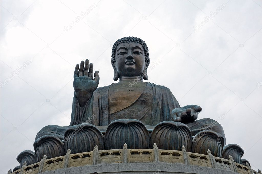 Buddha in Hong Kong China — Stock Photo #6989498