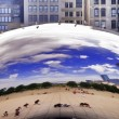 Stock Photo: Chicago Millenium Park Cloud Gate